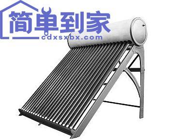 簡單到家 | 太陽能熱水器管子拆后裝上,漏水了怎么解決?
